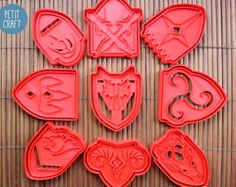 Elder Scrolls V: Skyrim Cities - Cookie Cutters, Cake and Fondant Decorates