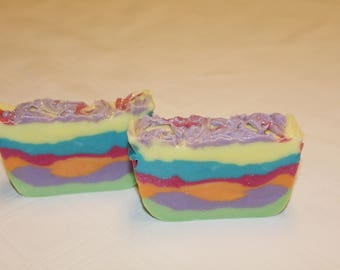 Rainbow Pride Soap