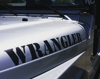 Jeep Wrangler Decal