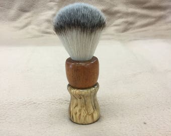 Classic shave brush in Spalted Maple & Koa wood ( blemish )