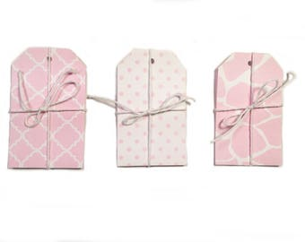 Pink Print Gift Tag Set of 15 CP-2014