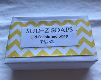 Hand-crafted soap- Vanilla