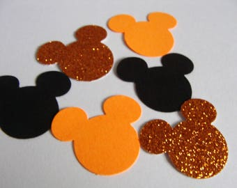Mickey Mouse confetti,Halloween confetti, Wedding Confetti,Birthday Party Decor, Mickey glitter,Mickey Table Scatter, Baby Shower Decor