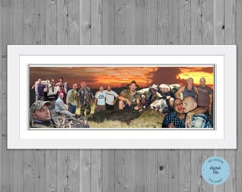 50th birthday gift, Photo  Collage for 50th Birthday, , Photo Montage 50th Birthday, photo collage gift