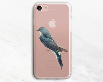 Tree Swallow iPhone 6 Plus Case iPhone 7 Case iPhone 6 Plus Case Clear iPhone 6 Case iPhone 7 Case Clear Clear Phone Case iPhone SE Case