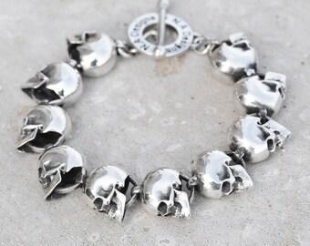 Large Skull Bracelet