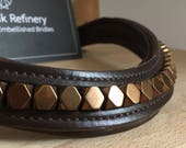 Copper Bling Browband--Style #031 'Copperhead'