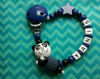 Pacifier panda color choices