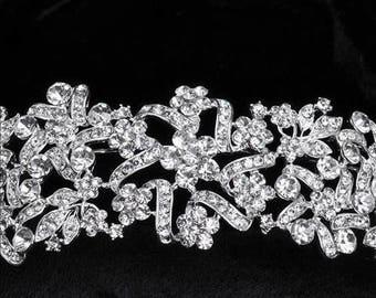 Bridal Tiara Crystal Tiara - Christine Tiara, Swarovski Bridal Tiara, Crystal Wedding Crown, Rhinestone Tiara, Wedding Tiara, Diamante Crown