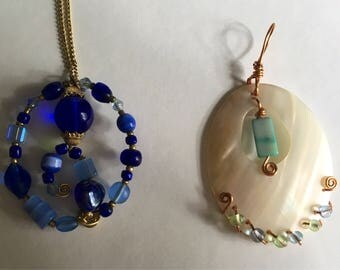 Wire Necklace Pendants