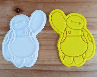 Baymax  Cookie Cutter and Stamp