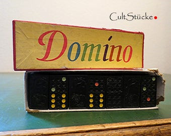 Vintage very old Domino game Domino stones (2)