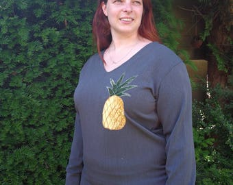 Pinapple blouse