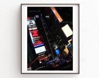 Times Square Manhattan,Instant Download .Printable Art, Digital Download, 4 JPG