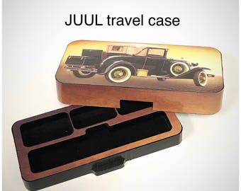 JUUL Vape travel case Antique Car design