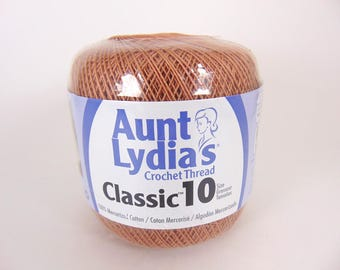 Copper Mist - Aunt Lydia's Crochet Cotton Classic Size 10