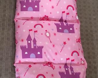 Princess Pillowbed holds 4 pillows