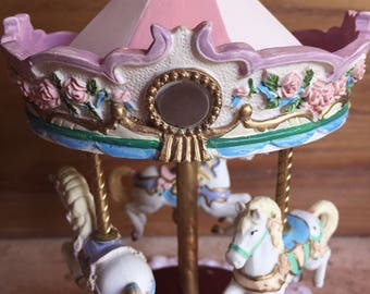 Carousel Horse music box Collectible