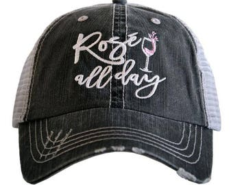 Rose all day trucker hats
