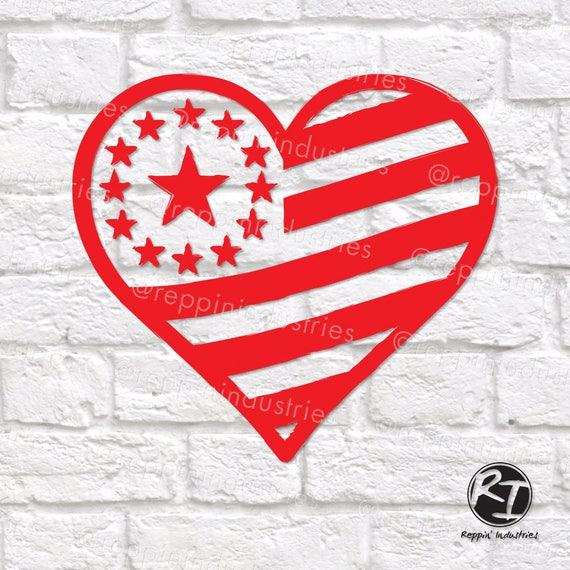 May The Fourth Be With You Svg: 4th Of July Svg American Flag Svg America Svg Heart Svg