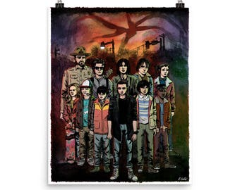 Stranger Things fine art print