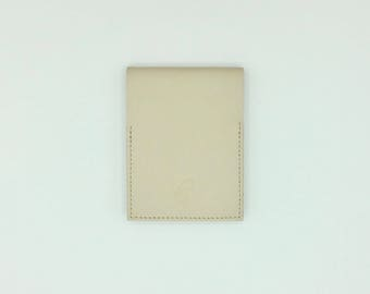 Mini notebook Beige