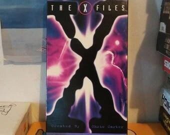 """The X-Files """"Pilot / Deep Throat"""" VHS"""