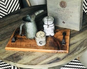 Barn Wood Tray