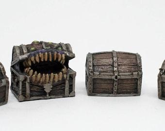 Mimic Treasure Chest Set