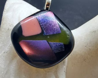 Fused Glass Pendent