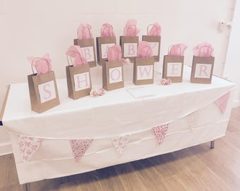 Whatu0027s In The Bag? Baby Shower Game Activity   For Hire   Paper Bags,