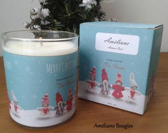 SALES wine warm scented Christmas candle