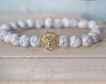 "Bracelet ""Golden Lion"" - 17 cm, 19 cm, 21 cm - gold"