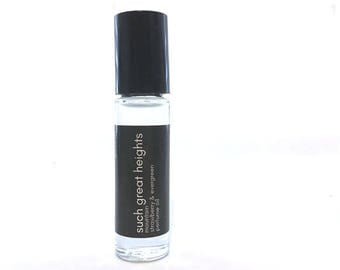 Mountain Strawberry Perfume Oil - Evergreen Scent - Roll On Perfume - Travel Size Fragrance