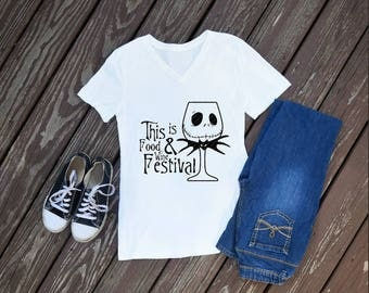 This Is Food and Wine Festival Womens Shirt, EPCOT shirts, food and wine festival