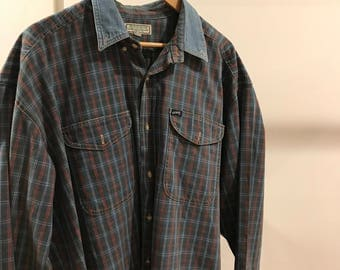 Vintage Guess Plaid Shirt