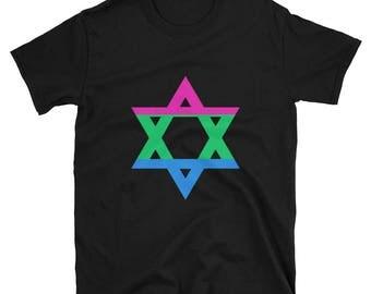 Polysexual Unisex T-Shirt poly polysexual lgbtq lgbtqipa mogai queer