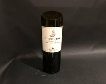 True Grit Wine Candle Reserve Cabernet Sauvignon Wine Bottle Soy Candle. Made To Order !!!!!!!