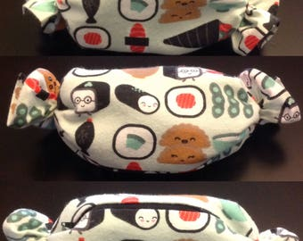 Kawaii Sushi Cosmetic Bag