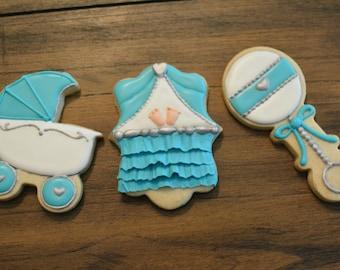 Baby Theme Cookies