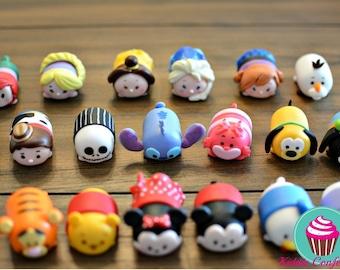 Tsum Tsum Cake/Cupcake Toppers
