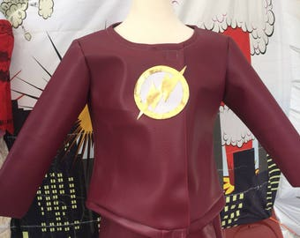 The Flash inspired costume