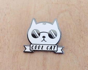 Cool Cat pin
