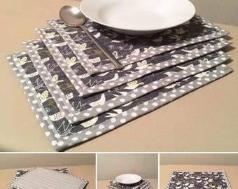 4 x Table mats, Home decoration. Small size