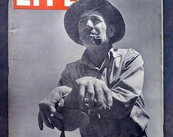 Life Magazine 27 May 1946 Qzark Farmer