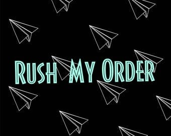 Rush My shirt order