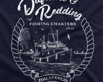 Dufresne & Redding Fishing Charters - The Shawshank Redemption T-Shirt