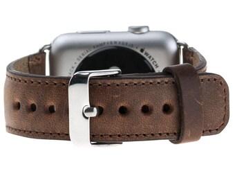 Apple Watch band 42mm watch band 38mm applewatch band leather apple watch strap Apple watch leather band 3rd Anniversary Gift