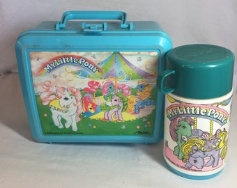 1989 My Little Pony Lunchbox and Thermos
