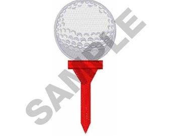 Golf - Machine Embroidery Design